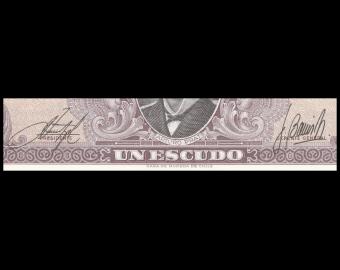 Chile, P-136b, 1 escudo, 1964