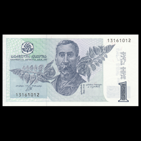 Banknote UNC Georgia 1995 1 Lari