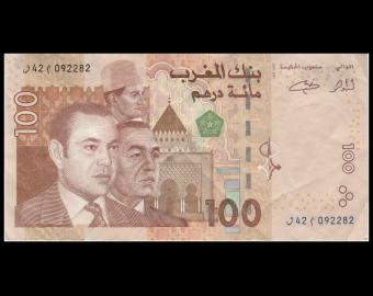 Morocco, P-70, 100 dirham, 2002, TTB / VeryFine