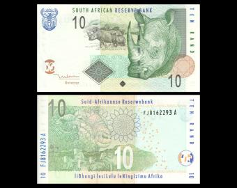 Afrique-du-Sud, P-128a, 10 rand, 2005