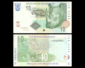 South-Africa, P-128a, 10 rand, 2005