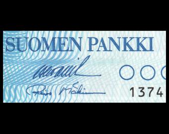 Finland, P-113a34, 10 markkaa, 1986