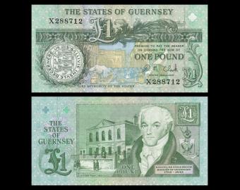 Guernsey, P-52, 1 pound, 2014