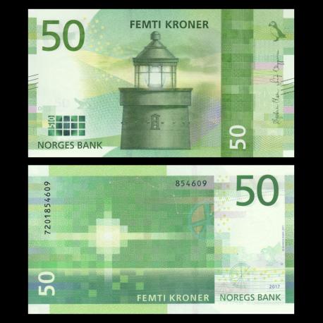 Norway, P-53new, 50 kroner, 2017