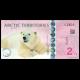 Arctic Territories, 2,5 polar dollars, 2013