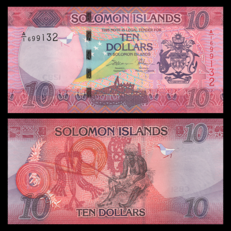 Solomon Islands, P-new, 10 dollars, 2017