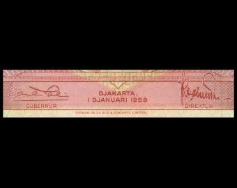 Indonesia, P-066, 10 rupiah, 1959