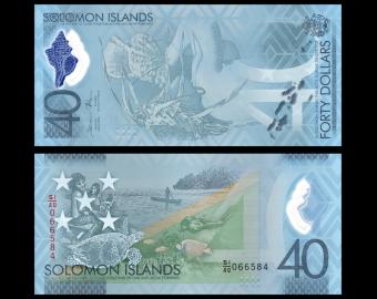 Salomon (iles), P-new40, 40 dollars, 2018
