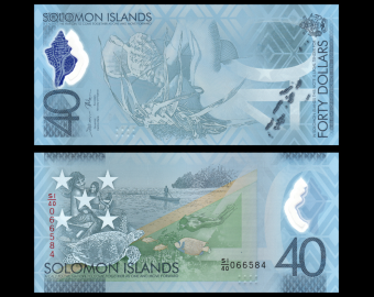 Solomon Islands, P-new40, 40 dollars, 2018