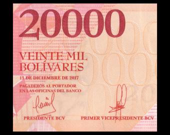 Venezuela, P-099c, 20000 bolivares, 2017