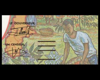 Equatorial Guinea, , P-502Nh, 1000 francs, 2000