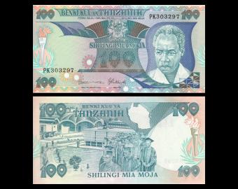 Tanzania, P-14b, 100 shilingii, 1986