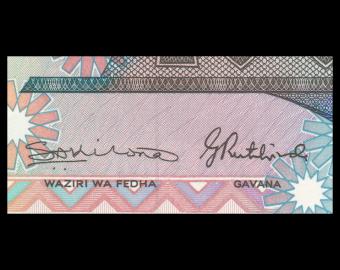 Tanzanie, P-14b, 100 shilingii, 1986