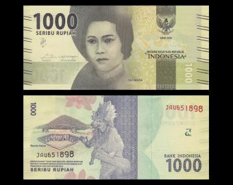 Indonesia, P-154c, 1000 rupiah, 2018
