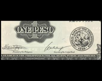 Philippines, P-133h, 1 peso, 1969
