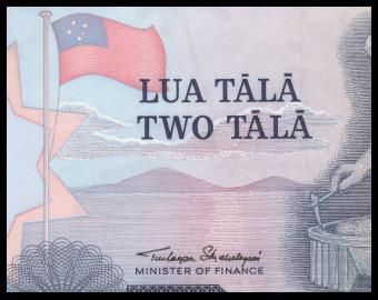 Samoa, P-25, 2 tala, 1985