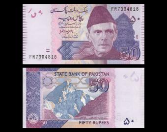 Pakistan, P-56new, 50 rupees, 2010
