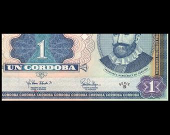 Nicaragua, P-179, 1 cordoba, 1995