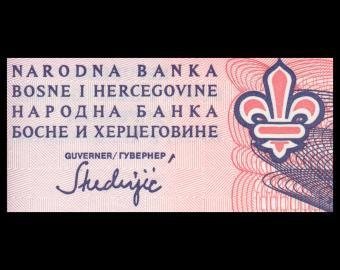 Bosnia and Herzegovina, P-047, 50 dinara, 1993