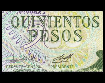 Argentina, P-303a3, 500 pesos, 1982