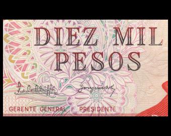 Argentina, P-306b, 10000 pesos, 1983