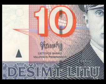 Lithuania, P-68, 10 litu, 2007