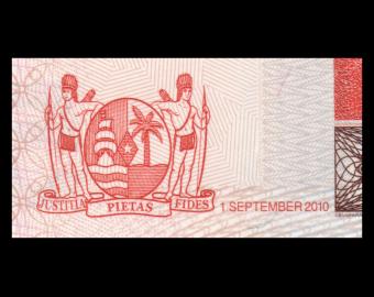 Surinam, P-162a, 5 dollars, 2010
