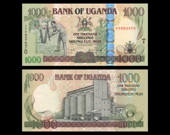 Uganda, P-43a, 1.000 shilingi, 2005