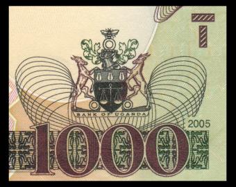 Ouganda, P-43a, 1000 shilingi, 2005