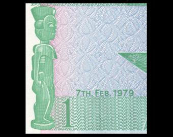 Ghana, P-17a 1 cedi, 1979