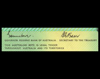 Australia, P-43e, 2 dollars, 1974-85
