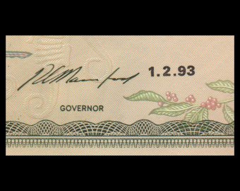 Jamaica, P-69e, 2 dollars, 1993