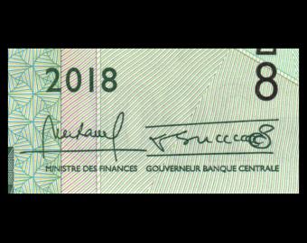 Guinée, P-new, 2000 francs, 2018