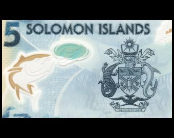 Salomon (iles), P-38, 5 dollars, 2019