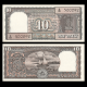 India, P-060Aa, 10 rupees, 1985