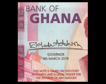 Ghana, P-45, 1 cedi, 2019