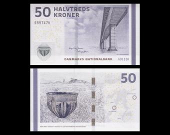 Denmark, P-65e, 50 kroner, 2012