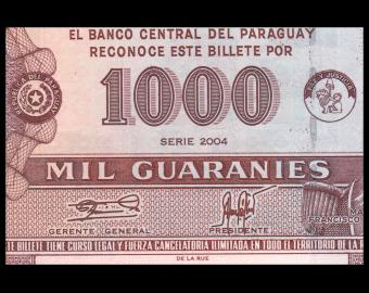 Paraguay, P-222a, 1.000 guaranies, 2003