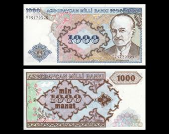 Azerbaidjan, P-20a, 1000 manat, 1993