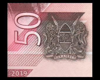 Kenya, P-New, 050 shilingi, 2019