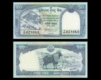 Nepal, P-63a, 50 roupies, 2008