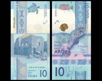 Aruba, P-21, 10 florin, 2019