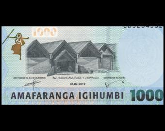 Rwanda, P-39b, 1000 francs, 2019