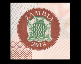 Zambia, P-59b, 20 kwacha, 2018