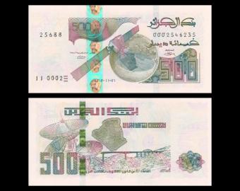 Algeria, P-145, 500 dinars, 2018