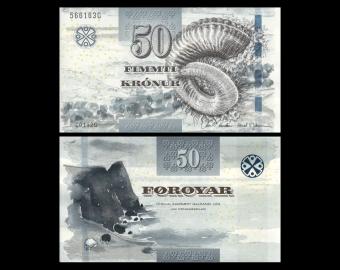 Féroé (îles), P-29, 50 kronur, 2011