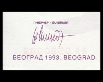 Yougoslavia, P-127, 10 000 000 000 dinara, 1993.