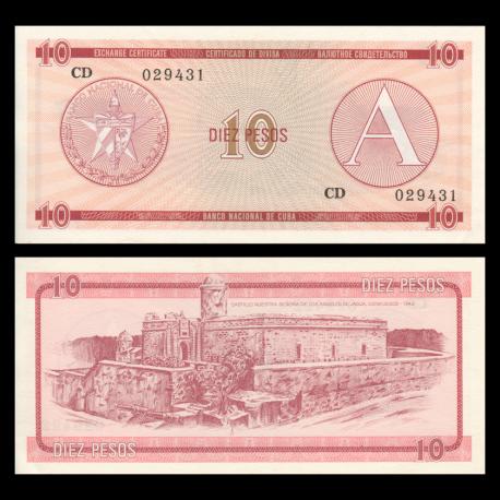C, P-FX04, 10 pesos, 1985
