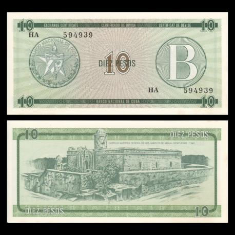 C, P-FX08, 10 pesos, 1985