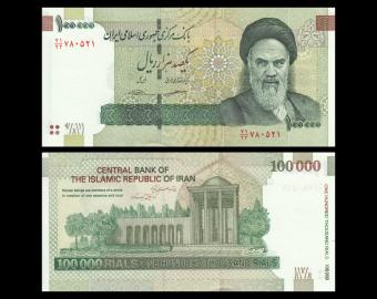 I, P-151c, 100 000 rials, 2018